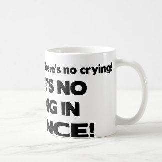 No Crying in Science Classic White Coffee Mug