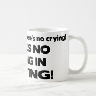 No Crying in Writing Coffee Mug