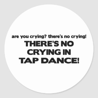 No Crying - Tap Dance Sticker