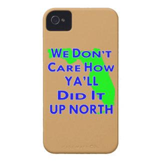 No cuidamos cómo usted lo hizo él encima del norte carcasa para iPhone 4 de Case-Mate