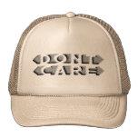 No cuide gorras