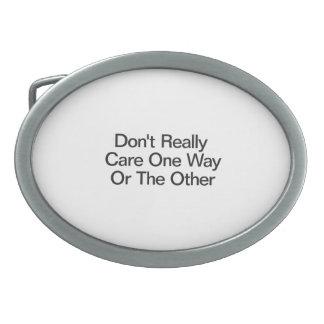 No cuide realmente de un modo u otro .ai hebillas de cinturón ovales