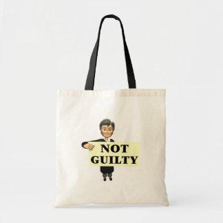 No culpable bolsas de mano