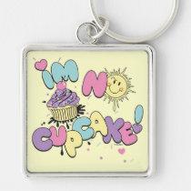 keychain, funny, friends, bff, birthday, wedding, love, keys, ice-cream, party, Keychain with custom graphic design