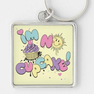 No Cupcake Keychain
