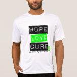 No curación del amor de la esperanza del linfoma d camiseta