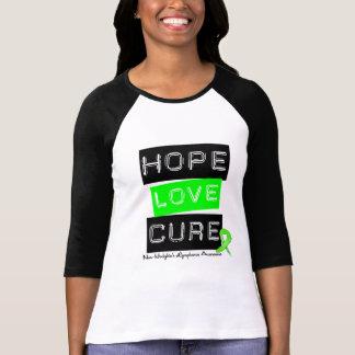 No curación del amor de la esperanza del linfoma playera