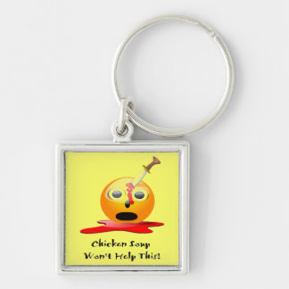 No Cure Keychain
