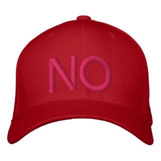 NO - Customizable Baseball Cap by eZaZZleMan