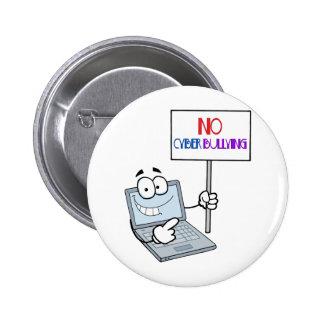 No Cyber Bullying Computer Pin