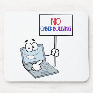 No Cyber Bullying Computer Mouse Pad