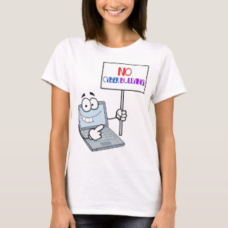 No Cyber Bullying Computer T-Shirt