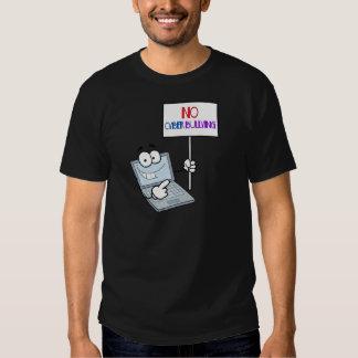No Cyber Bullying Computer Tee Shirt