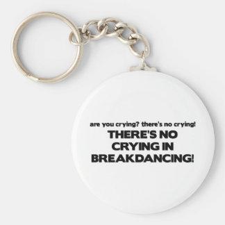 No Cyring - Breakdancing Keychain