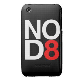 NO D8 - NO DATE iPhone 3 Case-Mate CASE