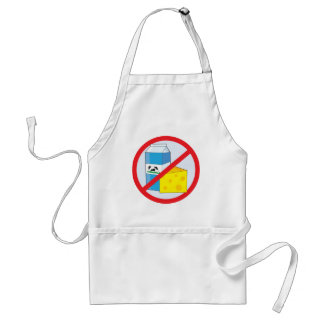 No Dairy Adult Apron