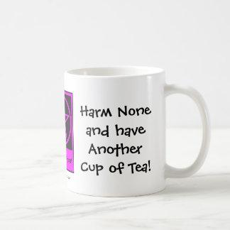 ¡No dañe ninguno y tenga una taza de té! Taza fres