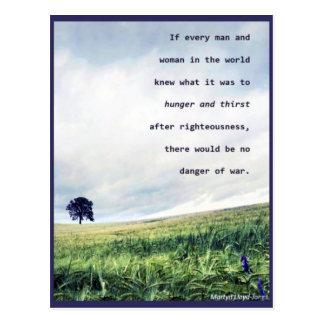 No Danger of War Postcard