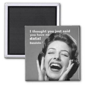 No Data? Vintage-Inspired School Psychology Magnet
