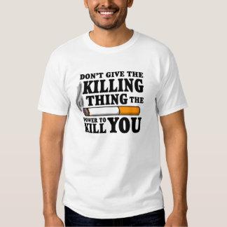 """No dé la cosa de la matanza…"" Camisa de TFioS"