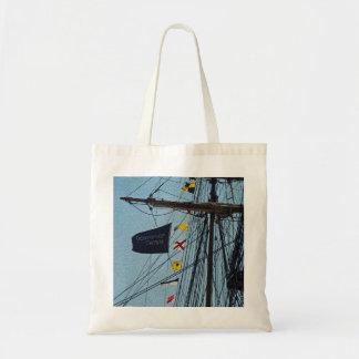 No dé para arriba el bolso de la bandera de la nav bolsas