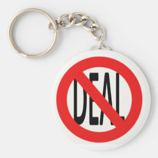 No Deal Keychains