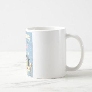 No debe dañar para ser un niño taza de café