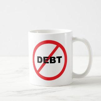 No Debt Coffee Mug