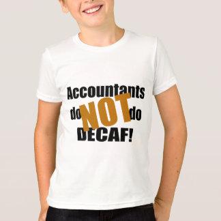 No Decaf - contable Playeras