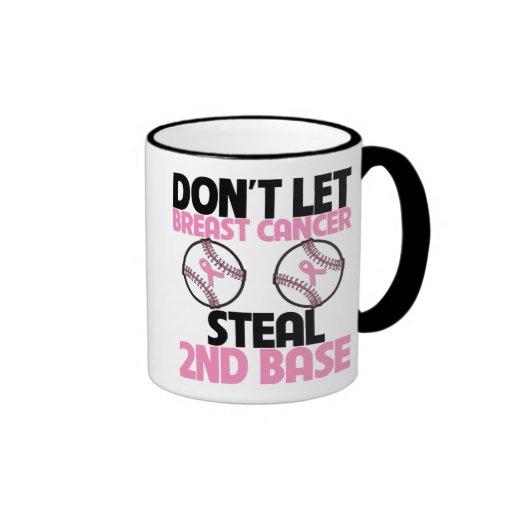 No deje al cáncer de pecho robar la 2da base taza