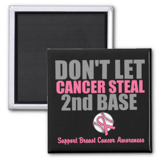 No deje al cáncer robar en segundo lugar la 2da ba imanes de nevera