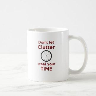 No deje el montón robar su taza de Time