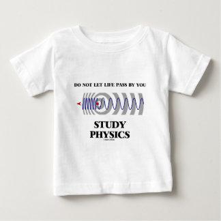 No deje el paso de la vida de usted la física playera
