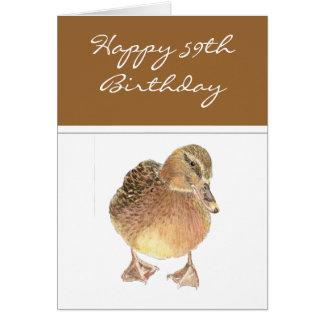 No deje la impulsión de la edad avanzada usted tarjeta de felicitación