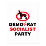 No Democrat Socialist Party (v100) Postcard