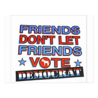 No Dems! Postcard