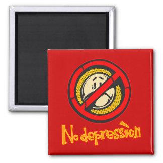 No Depression Fridge Magnets