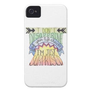 No desapruebo… Case-Mate iPhone 4 cárcasas
