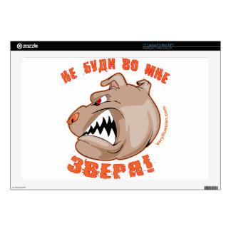 ¡No despierte la bestia dentro de la bestia! 43,2cm Portátil Calcomanía