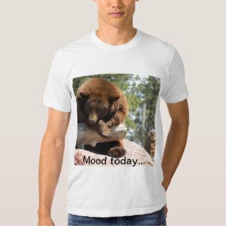 No despierte la camiseta del oso playeras