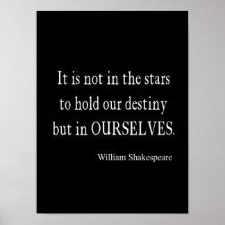 No destino pero nosotros mismos de las estrellas c póster