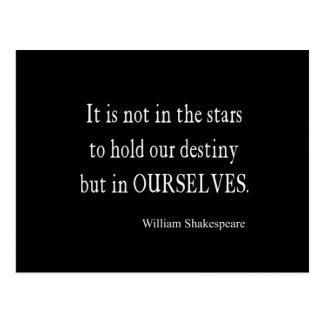 No destino pero nosotros mismos de las estrellas tarjetas postales