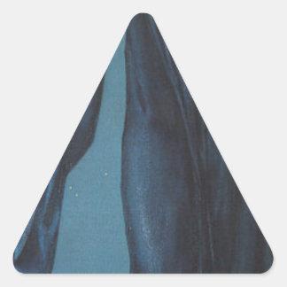 NO DETECTADO por Edward Burne-Jones Pegatina Triangular