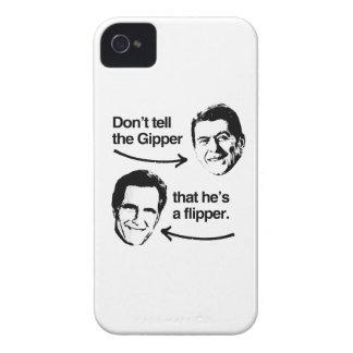 NO DIGA A GIPPER QUE ÉL es UNA ALETA iPhone 4 Cobertura