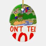 No diga la bici de la MAMÁ Ornamente De Reyes