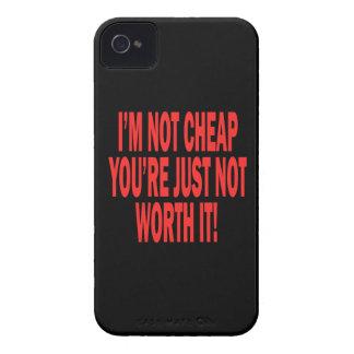 No digno de él Case-Mate iPhone 4 cobertura