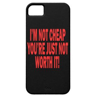 No digno de él iPhone 5 funda