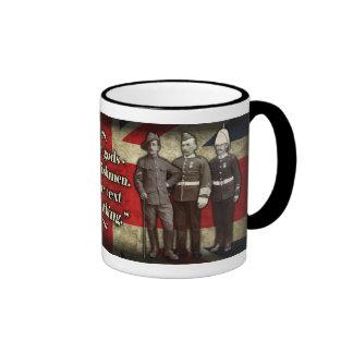 """""""No dioses, ingleses…"""" Taza de café"""