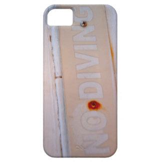 No Diving Case iPhone 5 Case