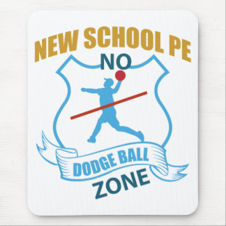 No Dodgeball Zone- Player Mouse Pad